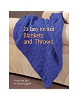 Martingale 20 Easy Knitted Blankets and Throws Book
