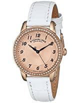 Stuhrling Original Analog Rose Gold Dial Women's Watch - 651.03