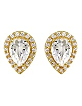 Exxotic Royal Designer 24k Gold Plated Silver Earring For Girls & Women