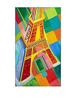 Legendarte Leinwandbild La Torre Eiffel di Robert Delaunay