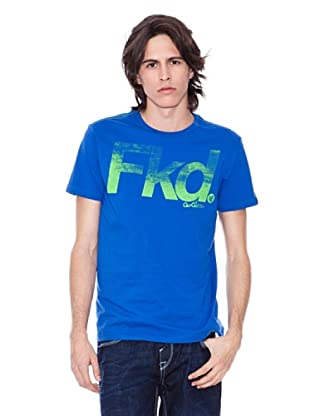 Gio Goi Camiseta Troyden (azul agua)