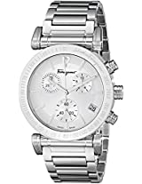 Salvatore Ferragamo Men's FP1920014 Salvatore Stainless Steel Watch with Link Bracelet
