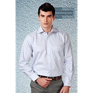 Peter England Formal Check Shirt