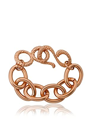 Riccova Rose Satin Heavy Link Chain Bracelet