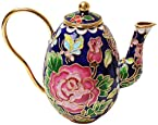 Museum Collections Cloisonne Floral Tea Pot