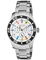 Nautica Analog White Dial Men's Watch - NTA14630G