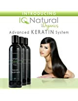 Brazilian Keratin Hair Straightening Treatment kit INCLUDES: 4oz Clarifying Shampoo, 4oz Post treatment conditioner, 4oz Keratin Straightening Treatment