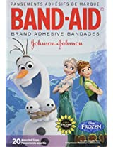 Band-Aid Adhesive Bandages, Disneys Frozen, Assorted Sizes, 20 Count by Band-Aid