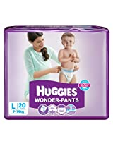 Huggies Wonder Pants Large - 20 Pcs 9 - 14 Kgs