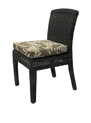 Padma's Plantation Outdoor Bay Harbor Side Dining Chair, Espresso