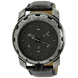 Fastrack Metalhead Analog Black Dial Men's Watch - 3101SL01