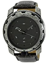 Fastrack Metalhead Analog Black Dial Men's Watch - 3101SL01
