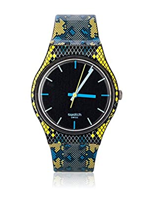 Swatch Quarzuhr Unisex Unisex SNAKY BLUE GB254 34.0 mm
