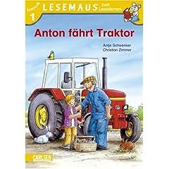 Anton faehrt Traktor. Stufe 1