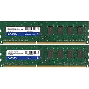 【クリックで詳細表示】A-DATA 【240pin Unbuffered DIMM DDR3-1333(PC3-10600)16GB(8GBx2)CL9-9-9-24 増設メモリ】 AD3U1333W8G9-2: パソコン・周辺機器