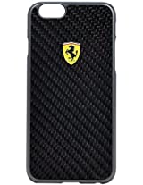 Ferrari Real Carbon Fiber Case iPhone6 Scuderia-Black FESCCBHCP6BL