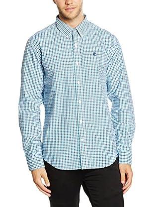 Timberland Camisa Hombre Ls Poplin Check Shir