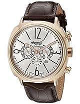 Ingersoll Men's IN2818RSL Cooper Analog Display Automatic Self Wind Brown Watch