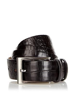 Silvio Tossi Cinturón Feroleto Antico (Negro)