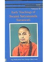 Early Teachings of Swami Satyanadna Saraswati: Vol. 2