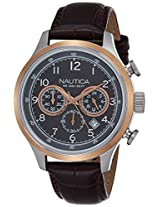 Nautica Sports Analog Brown Dial Men's Watch - NTCA16686G