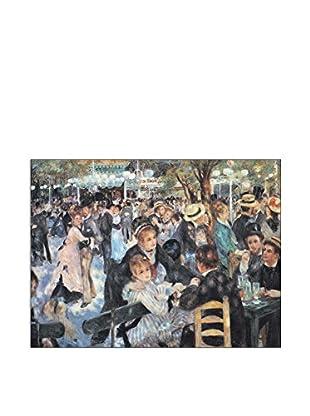 ArtopWeb Panel de Madera Renoir Au Mulin De La Galette 80x60 cm