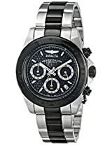 Invicta Speedway Analog Black Dial Men's Watch - 6934