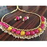 Yellow Fashion Jewellery Set