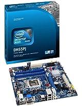 Intel DH55PJ LGA1156 H55 Chipet Boxed Motherboard (UATX Box, DDR3-1333 upto 8GB , 1 PCIE, DVI, VGA, GBE) for 1st Gen