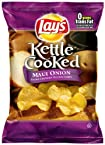 Lay's Kettle Cooked Maui Onion Potato Chips, 8.5 oz