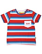 Buzzy Baby Boys' 12-18 Months Cotton T- Shirt (Red)