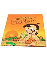 Chhota Bheem Team Bath Towel - Orange