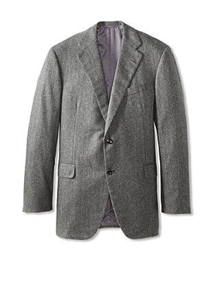 Oxxford Men's Oxxford Cashmere Herringbone Sport Coat (Charcoal)