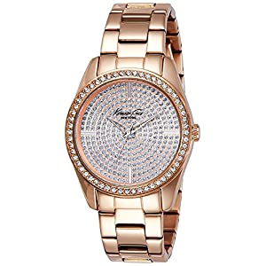 Kenneth Cole Analog Gold Dial Women's Watch - KC4958