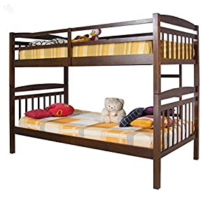 Style Spa Apollo Solid Wood Bunk Bed