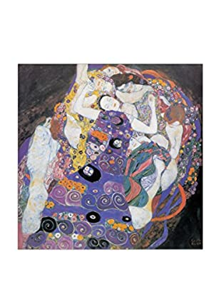 Artopweb Panel Decorativo Klimt Le Vergini Detail 30x30 cm Multicolor