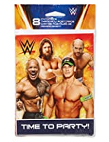 American Greetings Wwe Invite And Thank You Combo Pack (8 Count)