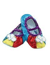 Disguise 83352 Rainbow Dash Slippers Costume Child
