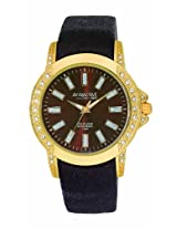 Q&Q Attractive Analog Brown Dial Women's Watch DA25J102Y