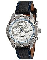 Seiko Analog White Dial Men's Watch - SSB191P1