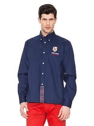 Valecuatro Camisa Firma (Azul Marino)