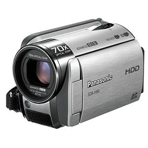 Panasonic SD/HDDビデオカメラ シルバー SDR-H80-S