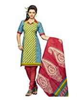 Karishma Suits Women Cotton Dress Material (Kpanelpg14 _Multi-Coloured _14)