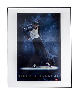 Michael Jackson 3-D Hologram Framed Poster