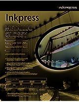 Inkpress Metallic Gloss 5X7 inch 50 Sheets Instant Dry Inkjet Paper