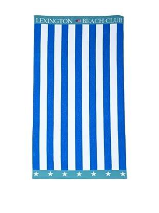 Lexington Company Toalla De Playa Multirayas (Verde / Azul)