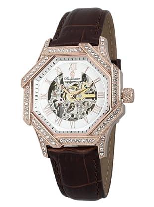 Burgmeister Damen-Armbanduhr Sydney Analog Automatik Leder BM169-315