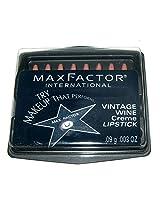 Max Factor Travel Lipstick Set Vintage Wine Creme 8 Mini Lipstick Wands