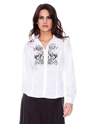 Steilmann Camisa Estampada (blanco)