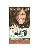 Clairol  Natural Instincts Crema Keratina Hair Color Kit, Dark Blonde 7 Maple Creme